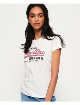 Vintage Logo Slub T Shirt by Superdry