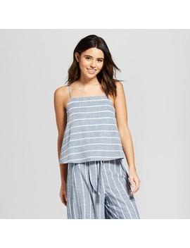 Women's Stripe Tulip Back Tank   Universal Thread™ Blue Stripe by Shop All Universal Thread™