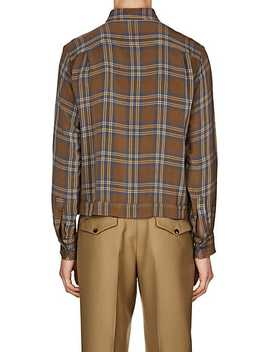 Plaid Twill Shirt by Dries Van Noten