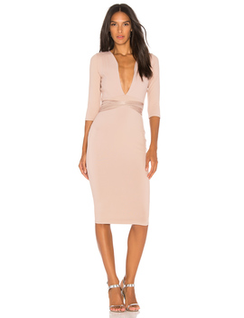 Luciana Midi Dress by Donna Mizani
