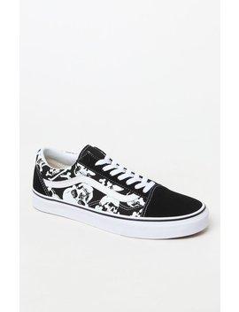 Old Skool Skulls Shoes by Vans