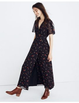 Tulip Sleeve Maxi Dress In Sweet Blossoms by Madewell