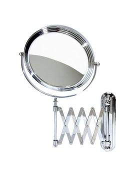 Accordion Wall Mount Mirror   Chrome by Shop All Harry Koenig