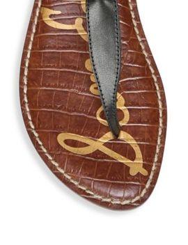 Gigi Printed Sandals by Sam Edelman