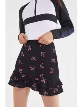 Uo Floral Flippy Mini Skirt by Urban Outfitters