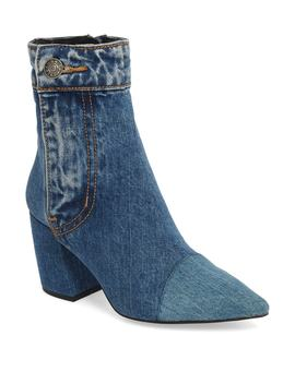 Finite Block Heel Bootie by Jeffrey Campbell