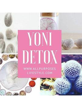 Detox Pearls(3 Pearls)Yoni Pearl Herbal  Tampon.  Pearl Yoni Detox  Yoni Cleanse by Pureeyoni