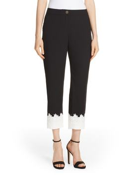 Fancisa Tapered Lace Cuff Pants by Ted Baker London