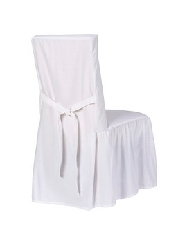 Cotton Duck Dining Chair Slipcover   Simply Shabby Chic® by Shop All Simply Shabby Chic