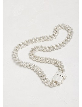 Usb Silver Necklace by Vetements