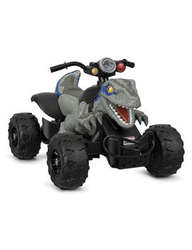 Jurassic World Dino Racer Ride On Vehicle By Fisher Price Power Wheels by Kohl's