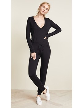 Isabelle French Terry Jumpsuit by Riller &Amp; Fount