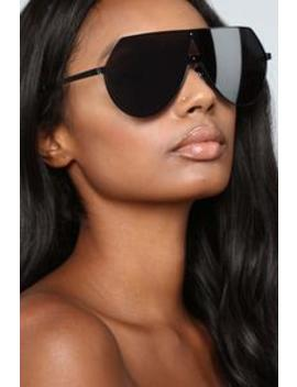 Heavy Metal Lover Sunglasses   Black by Fashion Nova