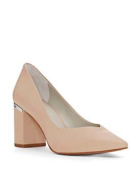 Saffire Block Heel Pumps by Generic