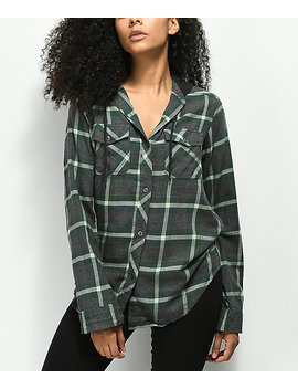 Empyre Jai Olive Hooded Flannel by Empyre