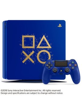 Sony Play Station 4 1 Tb Slim Days Of Play Limited Edition Blue, 3003131 by Sony