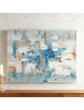 Blues Around Abstract Art by Pier1 Imports