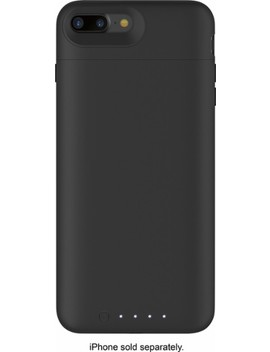Juice Pack External Battery Case With Wireless Charging For Apple® I Phone® 7 Plus And 8 Plus   Black by Mophie