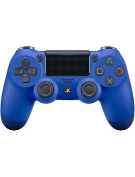 Sony Dual Shock 4 Controller For Play Station 4, Blue Wave by Sony