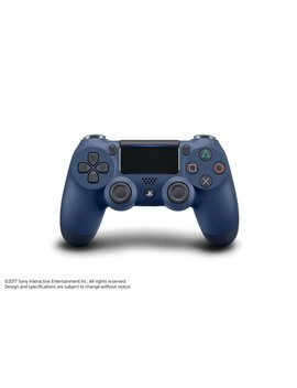 Sony Playstation 4 Dual Shock 4 Controller, Midnight Blue, 3002840 by Sony