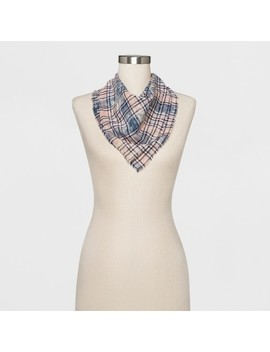 Women's Plaid Bandana   Universal Thread™ Blue by Shop All Universal Thread™