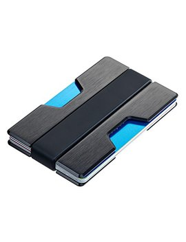 Roco Minimalist Aluminum Slim Wallet Rfid Blocking Money Clip by Roco