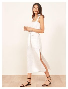 Women's White Elliot Dress by Reformation