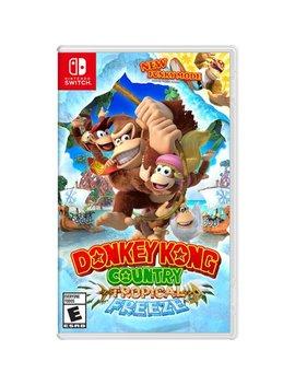 Donkey Kong Country: Tropical Freeze, Nintendo, Nintendo Switch, 045496592660 by Nintendo