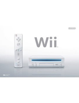 Refurbished Nintendo Wii Console White by Nintendo