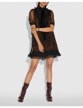 Bandana Print Mini Dress by Coach