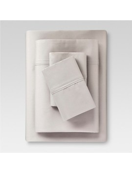Performance Sheet 400 Thread Count Sheet Set Gray   (King)   Threshold™ by Shop All Threshold™