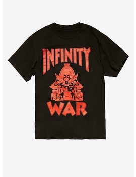 Marvel Avengers: Infinity War Thanos Throne T Shirt by Hot Topic