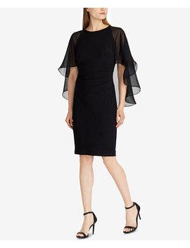 Cape Dress by Lauren Ralph Lauren