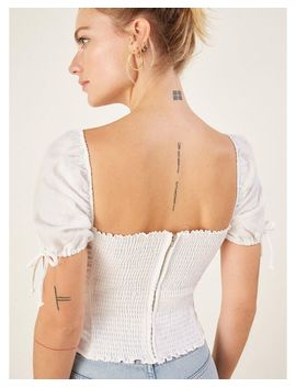 Women's White River Top by Reformation