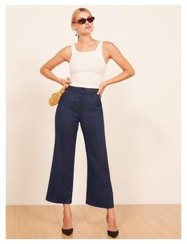 Women's Blue Jaylene Pant by Reformation