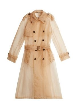 Organza Trench Coat by Maison Margiela