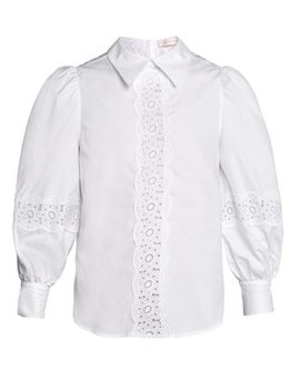 Cotton Poplin Blouse by See By Chloé