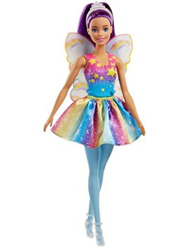 Barbie Dreamtopia Rainbow Cove Fairy Doll, Purple by Barbie