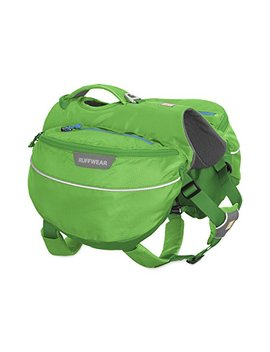 Ruffwear   Approach Full Day Hiking Pack For Dogs (Medium, Meadow Green) by Ruffwear