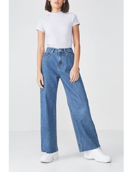 High Waist Wide Leg Jean by Cotton On