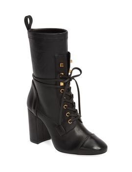 Veruka Lace Up Boot by Stuart Weitzman