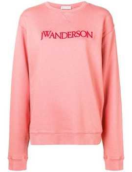Jw Andersonround Neck Sweatshirt Home Women Jw Anderson Clothing Sweaters by Jw Anderson