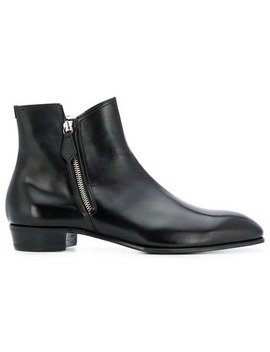 Lidfortside Zip Ankle Bootshome Men Lidfort Shoes Boots by Lidfort