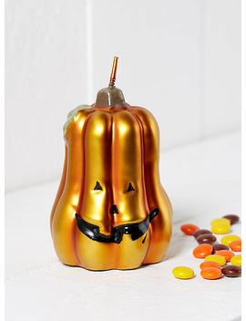 Metallic Pumpkin Candle by Simons Maison Simons Maison Simons Maison