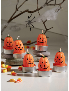 Pumpkin Candles Set Of 6 by Simons Maison Simons Maison Simons Maison Simons Maison Danica