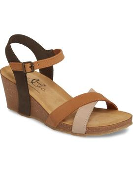 Lucca Wedge Sandal by Bos. & Co.