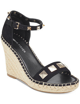 Knoll Studded Wedge Sandals by Marc Fisher
