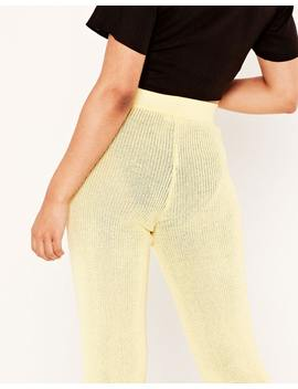 Wide Leg Knit Pant by Glassons