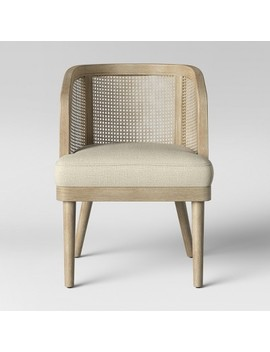 Juniper Cane And White Washed Wood Barrel Chair   Opalhouse™ by Shop All Opalhouse™