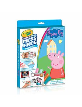 Crayola Peppa Pig Color Wonder Colouring Pad & Markers, Mess Free, Ages 3,4,5 by Amazon